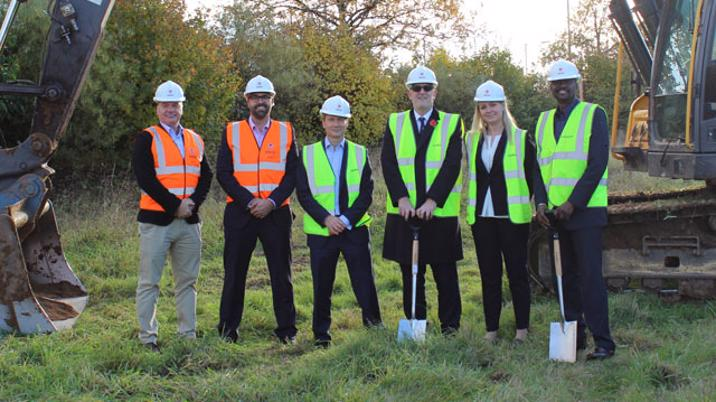 Construction begins on new Air Business HO and Distribution Centre