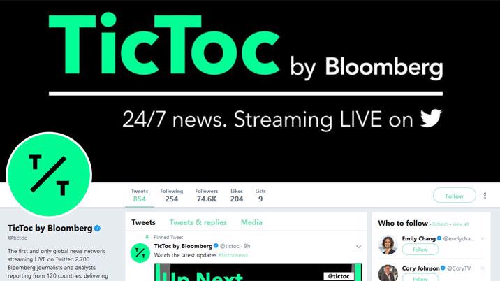 Bloomberg and Twitter Launch 24/7 Global Social News Network