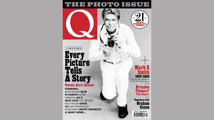 Q magazine publishes photography collector's edition