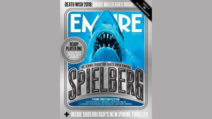 Empire publishes five special covers as Spielberg takes over