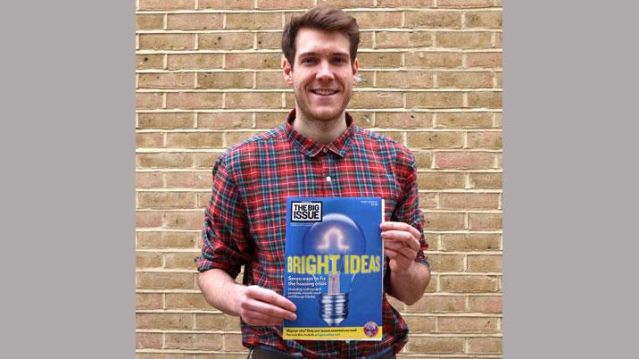 Big Issue appoints Ben Sullivan