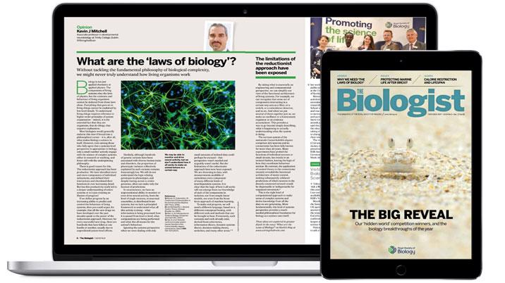 The Biologist Launches Digital Edition
