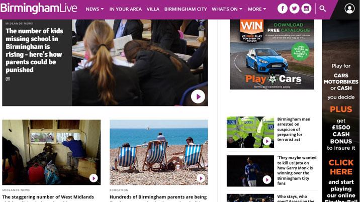 Trinity Mirror to expand Live digital brands