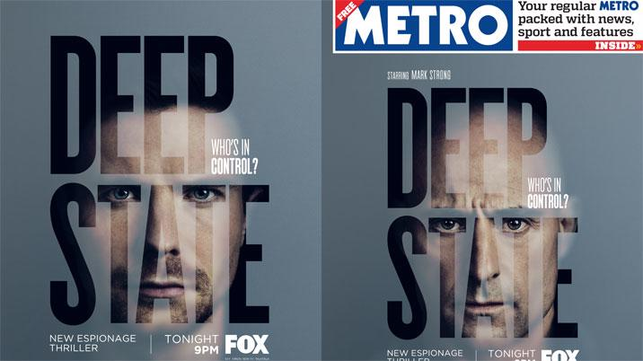Metro partners with Fox TV to deliver translucent cover wrap