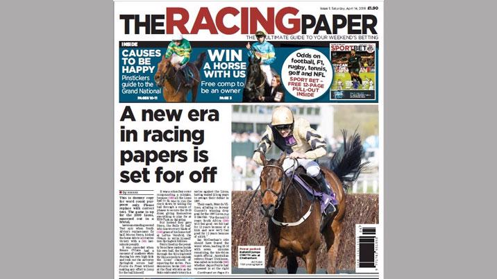 Launch: The Racing Paper