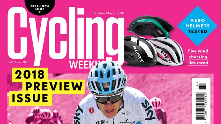 Cycling Weekly turns pink