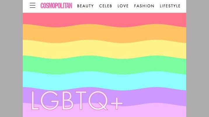 Cosmopolitan and Instagram partner on LGBTQ+ project