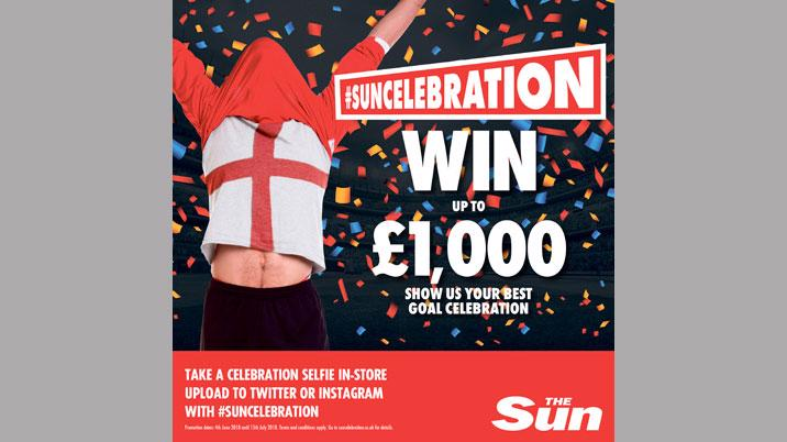 The Sun launches World Cup selfie promotion