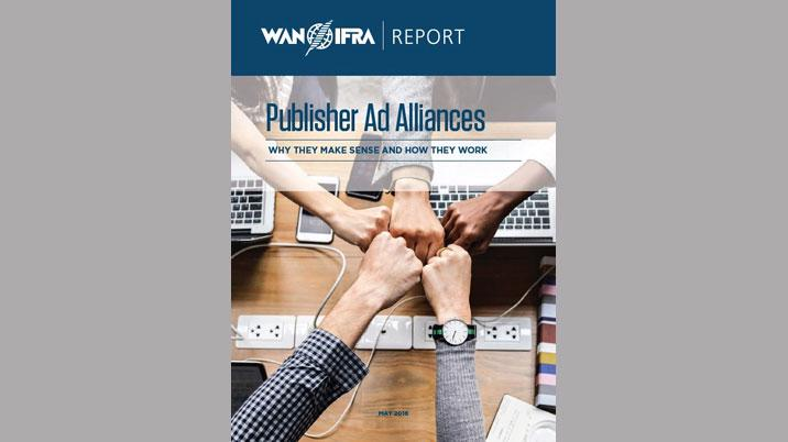 Publisher Ad Alliances: A new WAN-IFRA report