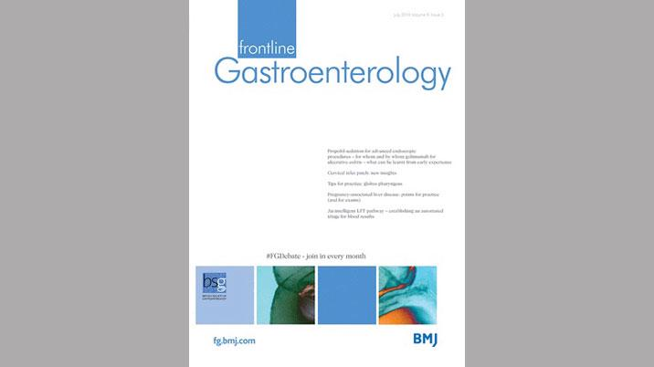 New Editor-in-Chief for Frontline Gastroenterology journal