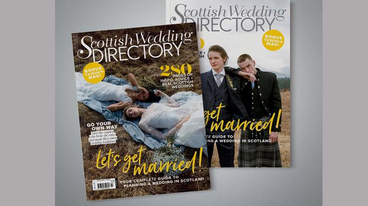 Scottish Wedding Directory: two brides and two grooms