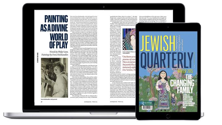 Jewish Quarterly partners with Exact Editions to launch full archive