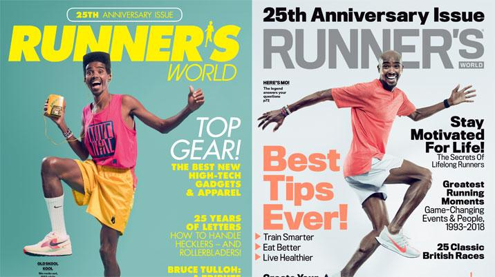 Sir Mo Farah guest edits Runner's World