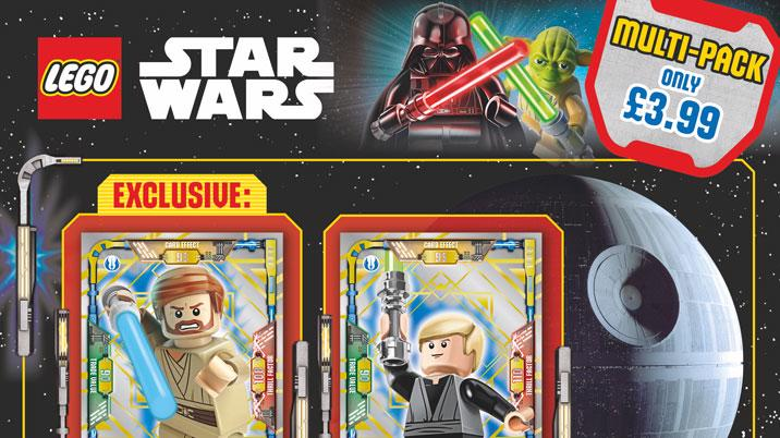 Immediate launches Lego Star Wars trading cards