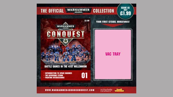 Partwork Launch: Warhammer Conquest Figurine Collection