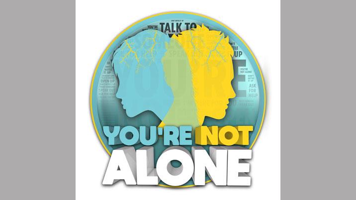 The Sun launches 'You're Not Alone' suicide prevention campaign