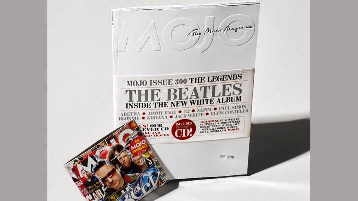 MOJO Celebrates 300th issue with White Album Collector's Edition