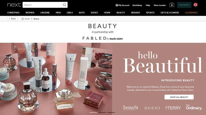 Fabled by Marie Claire partners with Next for beauty launch