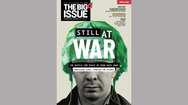 Redesign for The Big Issue
