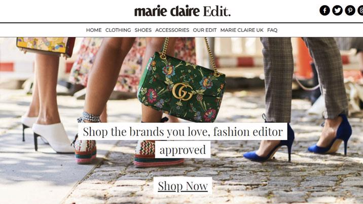 Marie Claire launches Marie Claire Edit shopping platform