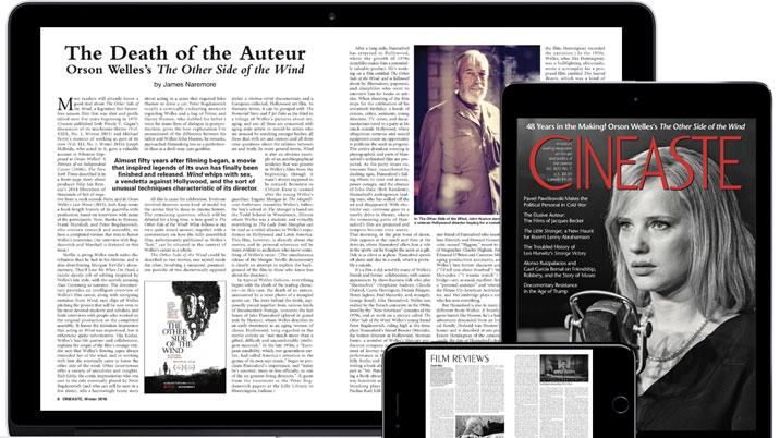 Cineaste launches digital archive with Exact Editions
