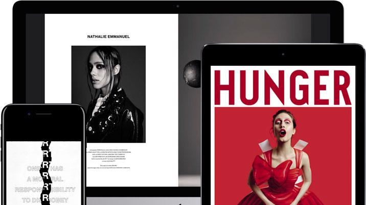 Hunger launches digital archive with Exact Editions