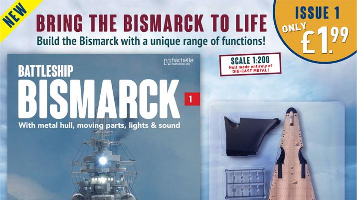 Partwork launch: Battleship Bismarck Collection