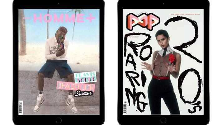 Arena Homme+ and POP Launch New Digital Editions
