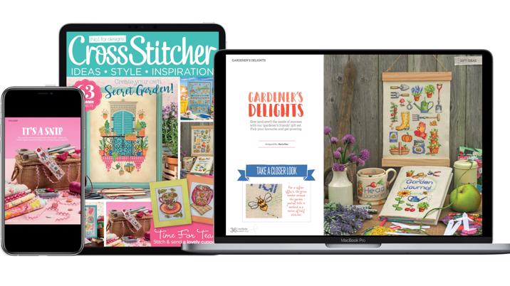 Warners Arts & Crafts Title CrossStitcher Launches Digital Archive
