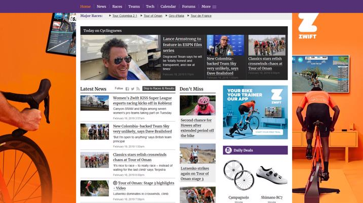 Future acquires Cycling News and Procycling