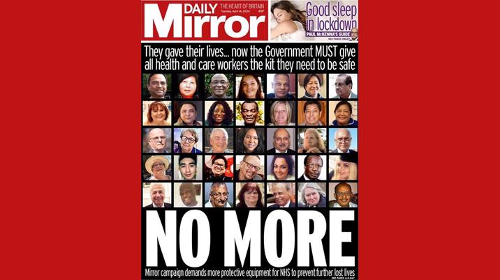 Mirror launches 'Protect Us' campaign for NHS workers