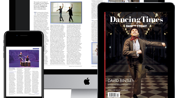 Dancing Times Launches Growing Digital Archive