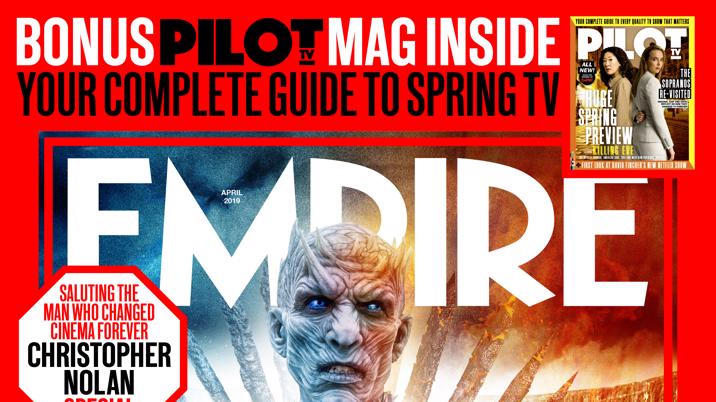 Empire publishes its first ever TV cover