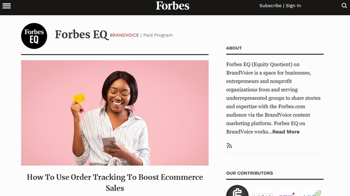 Forbes launches platform to support equity and inclusion