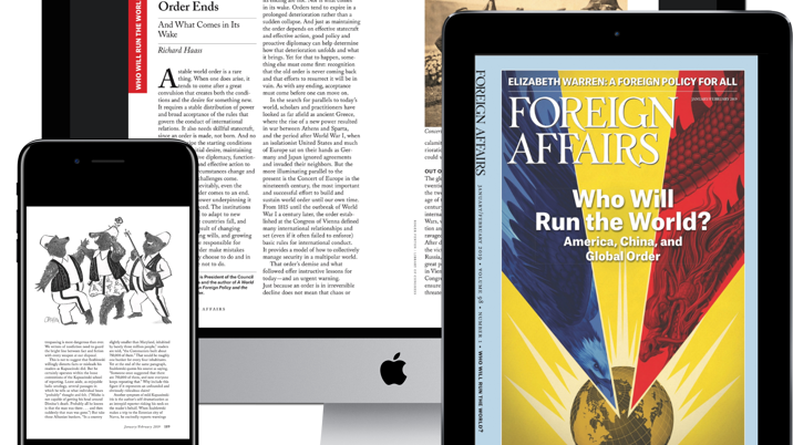 Foreign Affairs magazine launches with Exact Editions