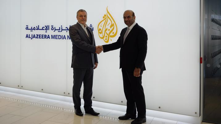 Al Jazeera now available on Gold Key Media's Digital Media Platform