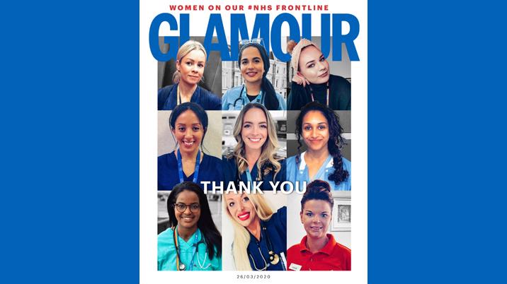 Glamour features 9 inspiring NHS heroes