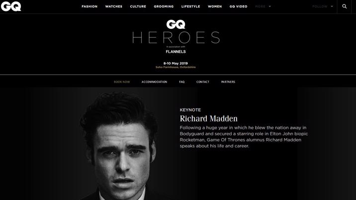 GQ launches GQ Heroes