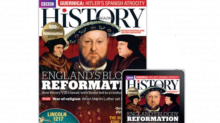 BBC History Magazine – embracing the new