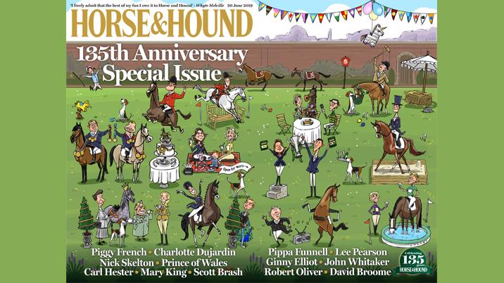 Horse & Hound celebrates 135th with souvenir edition