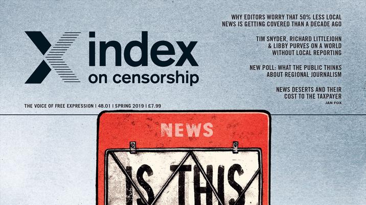 Index publishes report on the global importance of local news