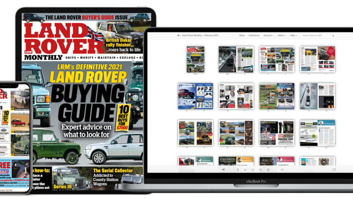 Land Rover Monthly Launches Digital Subscriptions