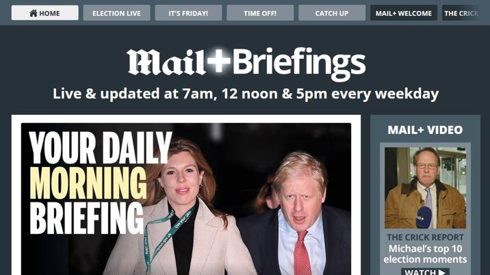 New Daily Mail digital title Mail+ launches on Glide Publishing Platform