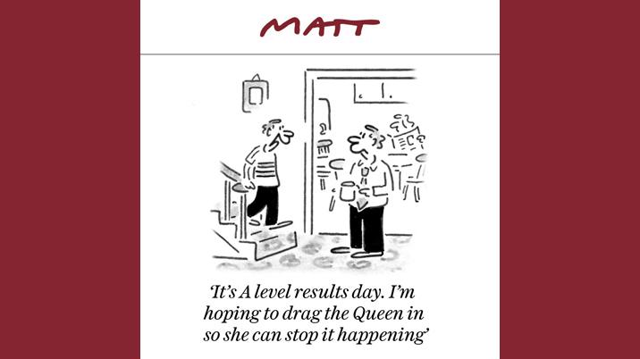 The Week in Cartoons – The Telegraph launches The Matt Newsletter
