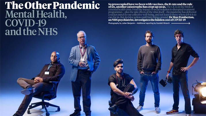 What the pandemic has done for Men's Health