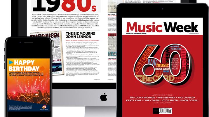 Music Week digital archive now available