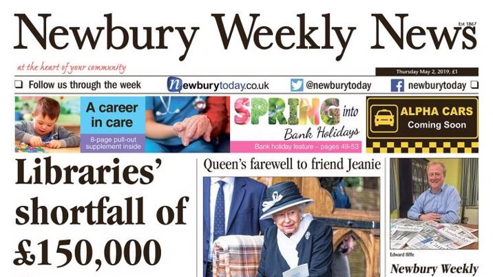 Newbury Weekly News acquired by joint venture