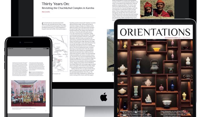 Orientations Unveils New Digital Edition Available For Subscription
