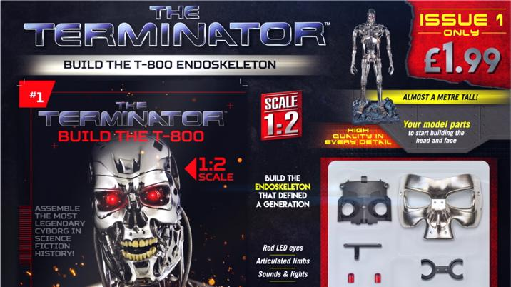 Launch: The Terminator – Build The T-800 Endoskeleton