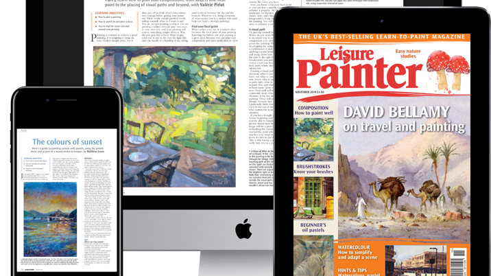 Warners offers Digital Art Magazines as Membership Feature